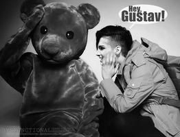 Hey, Gustav! by DysfunctionalHuman