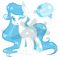 Pony Adoptable - Frost Flicker by SoftcoreMirth