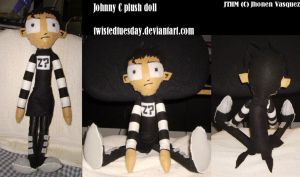 Nny plush doll by twistedtuesday