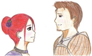 Ailith and Alistair by ShinyGriffon
