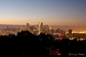 Seattle Cityscape 3 by photoboy1002001