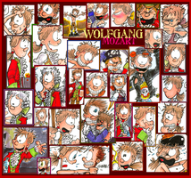 Wolfgang Collage by hankinstein