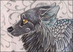 ACEO - Snowpelt by awaicu