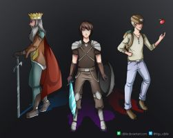 The King, the Prince and the Farmer by Ofelie
