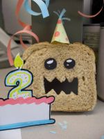Scary Walmart Bread's Birthday by kimchikawaii