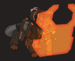 Armored Dog by Williamca