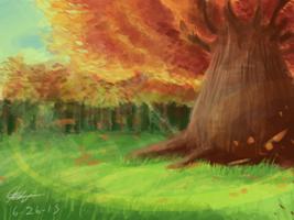 5 - Autumn Forest by Piranha2021