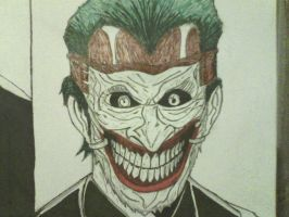 New 52 joker inked by ThomasDrawsStuff