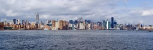 NYC panorama by LunaticDesire