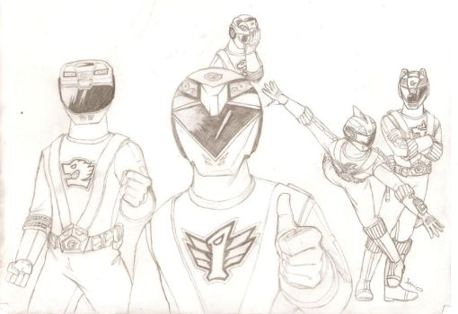 Power Rangers RPM 1-5 by RepairBay