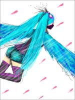 Miku Hatsune - Lets fly NOW by Pemiin