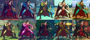 USF4 Mod - M. Bison (Dictator): Regime Superman by Segadordelinks
