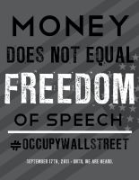 OCCUPY WALL STREET POSTER 1 by James-S-Flynn