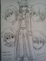 Request, jonathanthegreat: Kirito - L and S by Cam-san