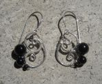Little Darkness earrings by Monaki