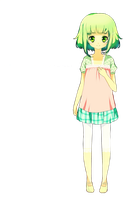GUMI - Render by LioneHime