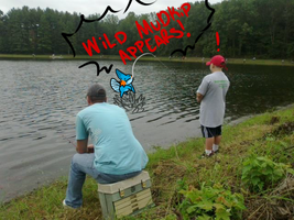 Wild MudKip Appeared!!! by brittoniawhite