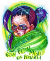 ROW ROW FIGHT DA POWAH by EliciaElric