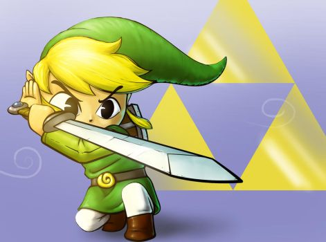 Toon Link by Pigzty