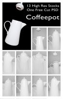 Coffeepot Stock Pack by pixelmixtur-stocks