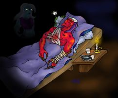 At Thrax' Bedside by DamienMuerte