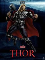 Thor - Marvel Avengers Alliance poster by P-DB