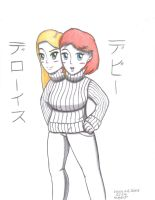 TheLovelyVocal's Debbie and Deloris (Redone) by xcesskinavira