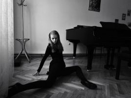 Study in black by antoanette