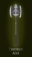 Thorin Axe by alchemiq