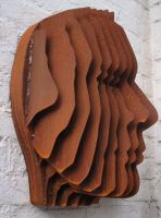 face sculpture 2 by grandmommy