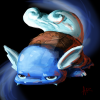 Weird Wartortle Sketch of Weirdness by ComicMasterX