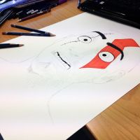 Kratos Disney Style Drawing Teaser by AtomiccircuS