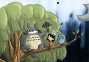 truccie meets totoro+friends by tRuCciE