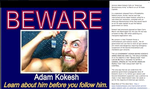 ADAM KOKESH: The Truth Be Told by Robin-Hood-Initiativ