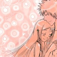 Orihime x Ichigo-Bubble Heaven by YaYa-ChanOO