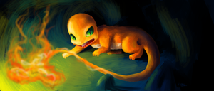 A WILD CHARMANDER HAS APPEARED by kirsten7767