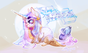 [Hatchling] LD - Space Princess [Closed!] by Sapphu-Adopts