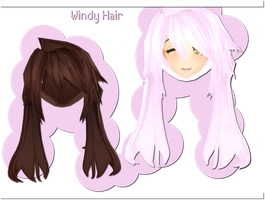 Windy Hair DOWNLOAD by xkyarii