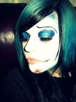 corpse bride makeup by amandaamassacre