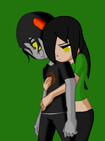 Hugs collab:AnalaxAltair14 by ILiveForBooks