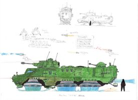 Ratel 30 futurised by tankbuster1