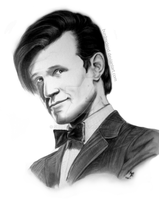 Matt Smith - Doctor Who by BurdMcLeod
