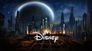 STAR WARS EPISODE 7 Coruscant Disney logo by Umbridge1986