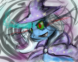 Speed Paint- Trixie by k-the-dragonknight