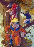 Naruto team Colors by madmagnus