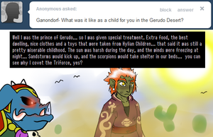 Ask Ganon - Childhood? by pocket-arsenal