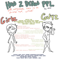 male vs female tut by thezookeepersboy