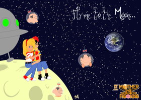 Fly me to the moon... by Marcotto