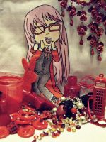 . Chibi Grell . by mrsCarterx3