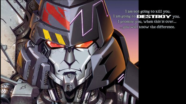 Wallpaper : Issue 22 Megatron by ladyofwreck